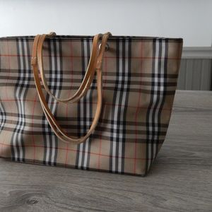 Burberry / Vintage tote bag